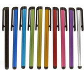 Ikoop & Proclaims © 2 stylus pennen KL. Licht paars paars Universeel HTC One/iPhone 5S/iPhone 4S/Samsung Galaxy/Xperia Z1/iPad 2,3,4 Air Mini / Galaxy Tab Zilver