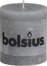 Bolsius Stompkaars Stompkaars 80/68 rustiek Lichtgrijs
