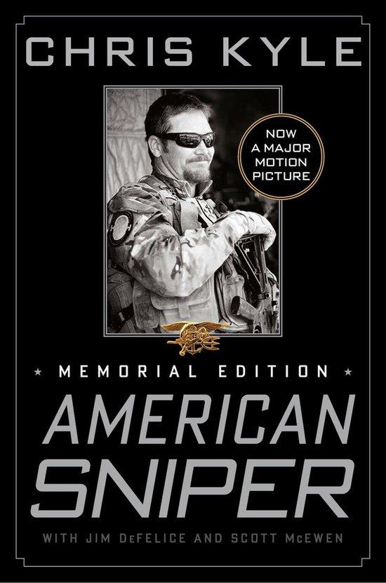 Boek cover American Sniper van chris Kyle (Onbekend)