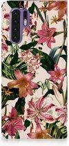 Huawei P30 Pro Uniek Standcase Hoesje Flowers