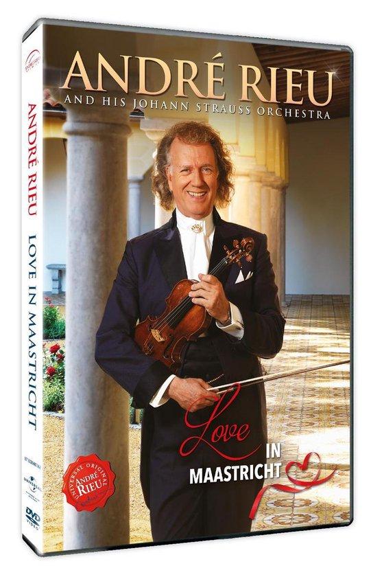 CD cover van Love In Maastricht (DVD) van André Rieu