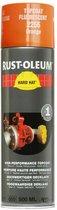 Rust-oleum Spuitverf hard hat  wit zijdeglans-9010      2193