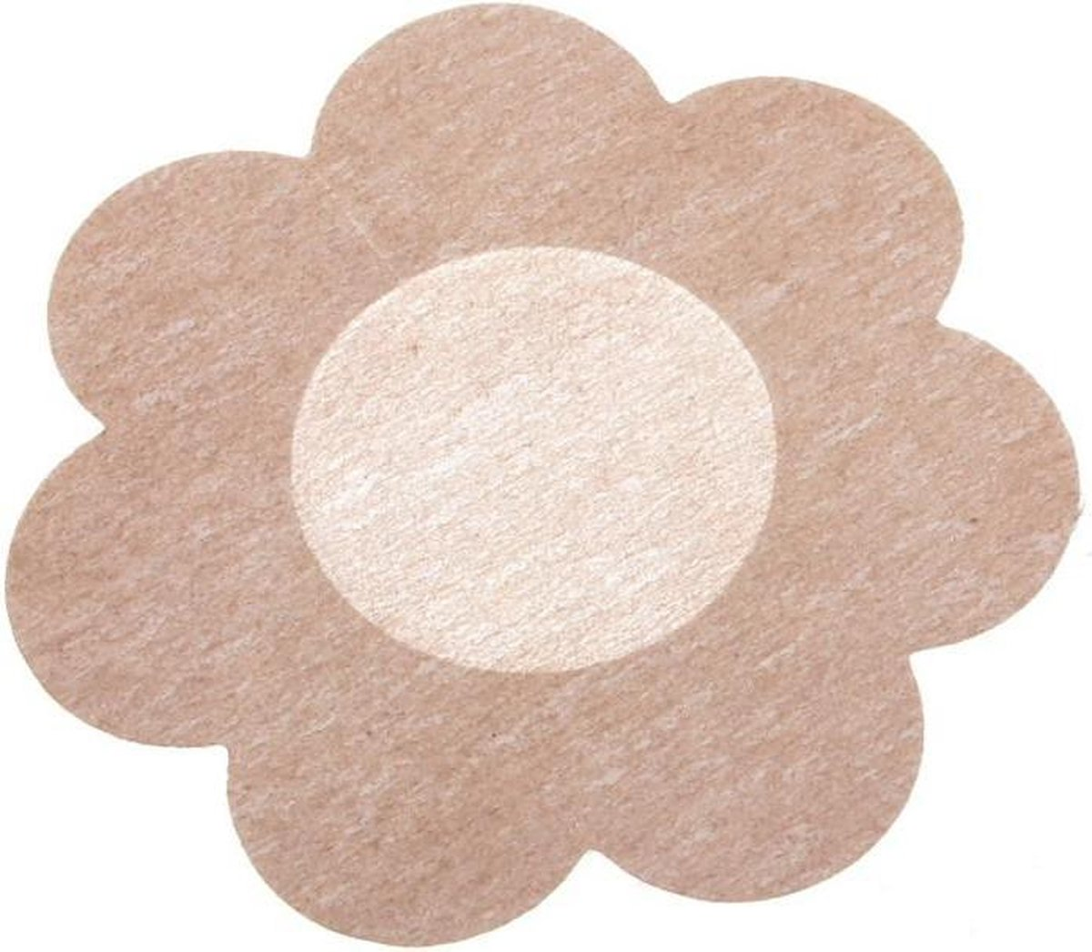 Tepel Sticker 5 Paar - 10 stuks - Tepel Cover - Nipple Patch - Tepel Bescherming - Beige