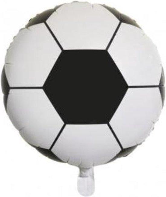 Folieballon Voetbal, 46cm ø