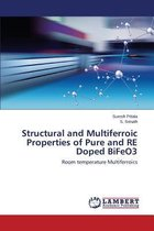 Structural and Multiferroic Properties of Pure and Re Doped Bifeo3