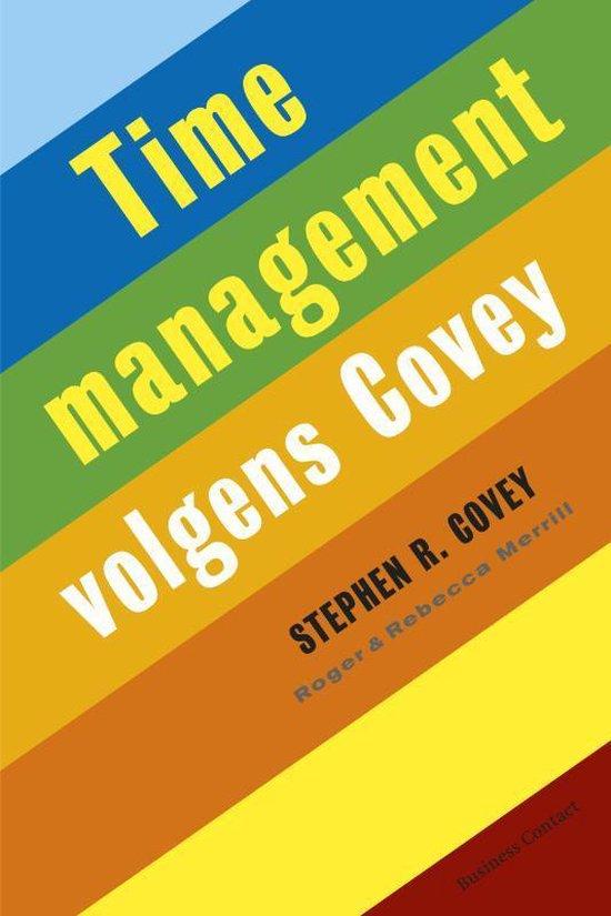 Timemanagement volgens Covey - Stephen R. Covey |