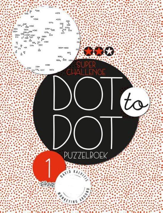 Dot to dot puzzelboek Super challenge deel 1 - Diverse auteurs  