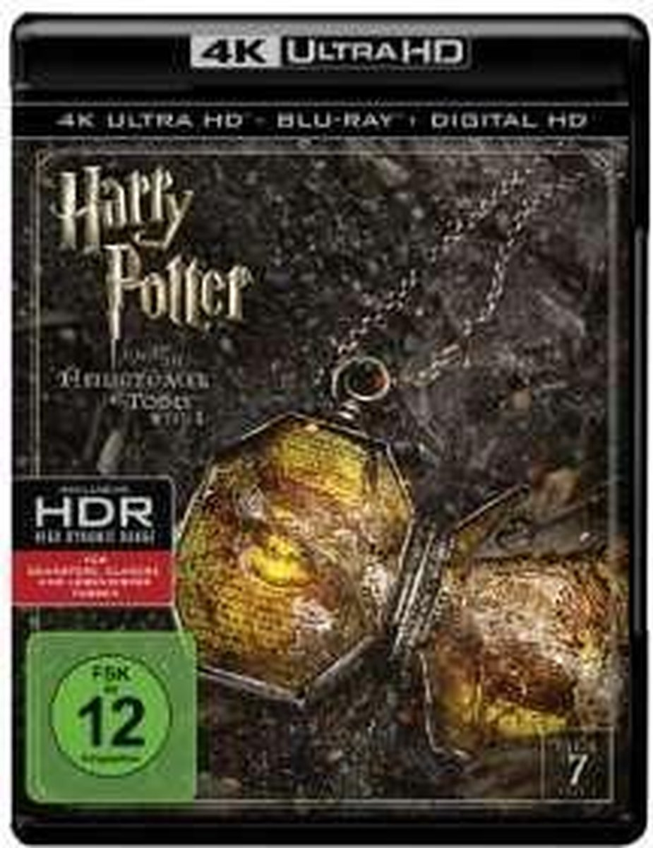 Harry Potter And The Deathy Hallows Part 1 (4K Ultra HD Blu-ray) (Import)-
