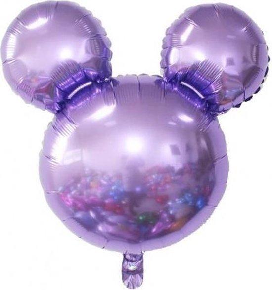 Folieballon Mickey Paars
