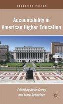 Accountability in American Higher Education
