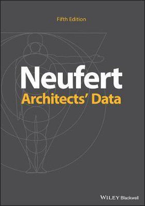 Boek cover Architects Data van Ernst Neufert (Paperback)