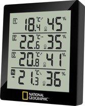 National Geographic thermo- hygrometer 4 meetbereiken