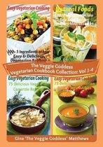The Veggie Goddess Vegetarian Cookbook Collection