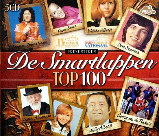 CD cover van De Smartlappen Top 100 van various artists