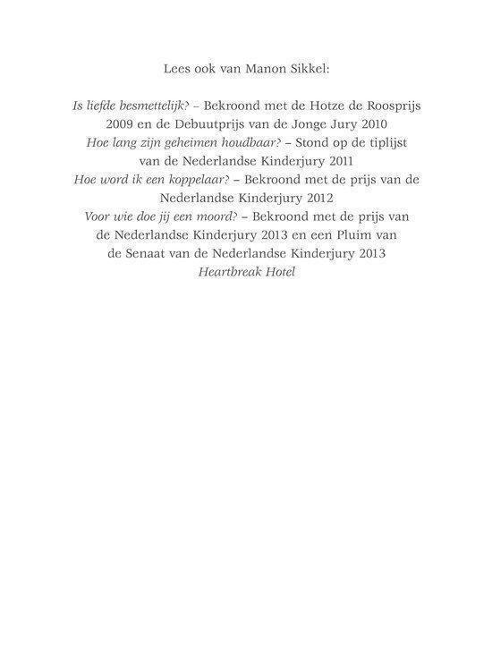 Is vriendschap 4ever - Manon Sikkel pdf epub