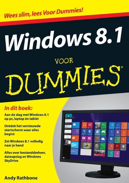 Voor Dummies - Windows 8.1 voor Dummies - Andy Rathbone |