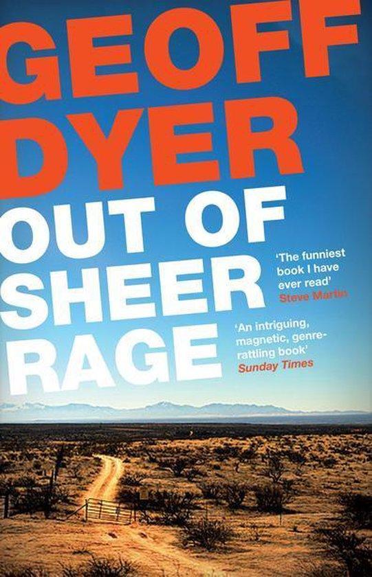 Boek cover Out of Sheer Rage: In the Shadow of D. H. Lawrence van Geoff Dyer (Onbekend)