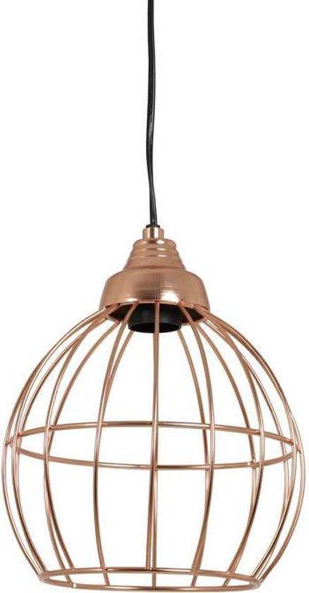 Nieuw bol.com | Light Living Benthe - Draadlamp - Ø20 cm - Rose Goud BN-97