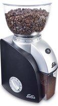 Solis Scala Plus Grinder 1661 Koffiemolen - Elektrische Koffiemaler met 22 Maalinstellingen - Zwart