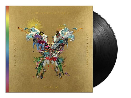 Afbeelding van Live In Buenos Aires / Live In Sao Paulo / A Head Full Of Dreams (LP+DVD)
