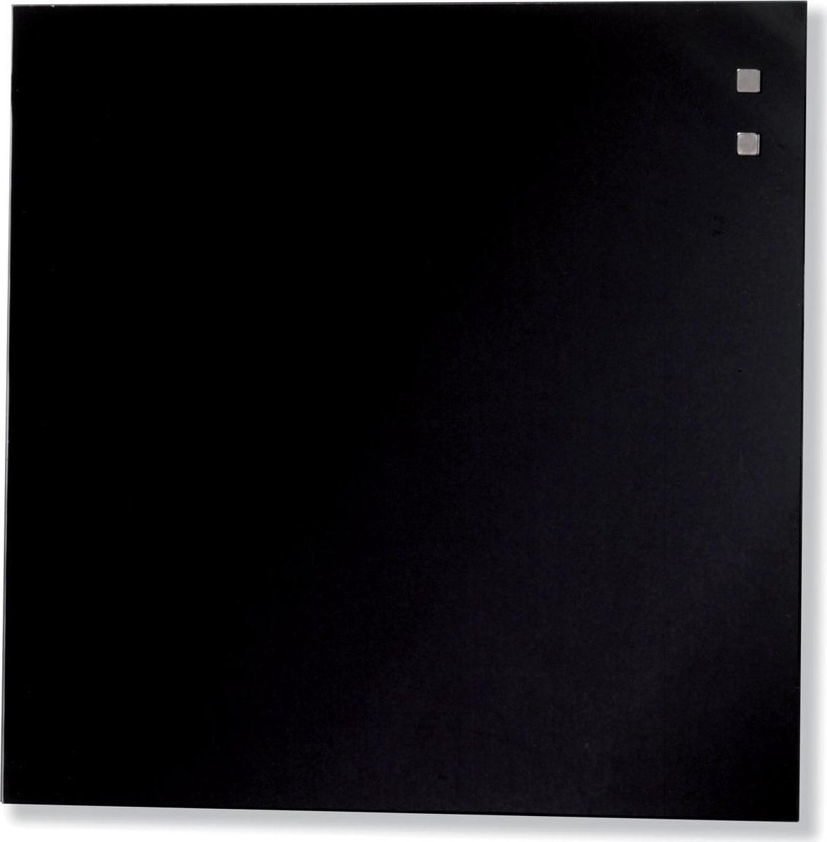 Naga magnetisch glasbord zwart formaat 35 x 35 cm
