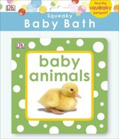 Squeaky Baby Bath Book Baby Animals
