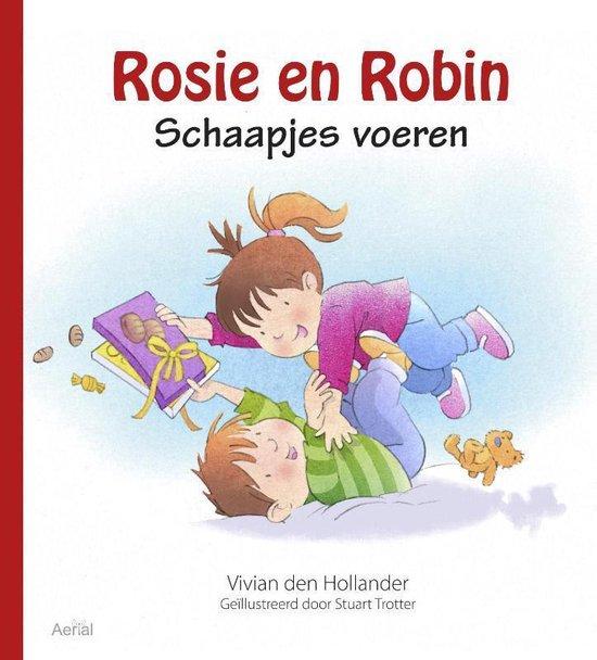Rosie en Robin - Schaapjes voeren - Vivian den Hollander  