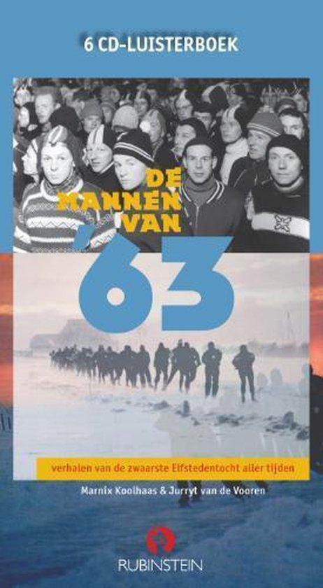 Cover van het boek 'De mannen van '63' van Jurryt van de Vooren en Marnix Koolhaas