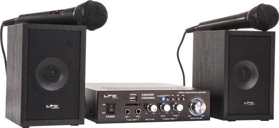 LTC Audio Karaoke set met USB/SD & Bluetooth