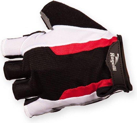 Rogelli Rockdale - Fietshandschoenen - Kort - Maat XXL - zwart/rood/wit