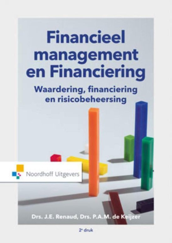 Boek cover Financieel management en Financiering van P. de Keijzer (Paperback)