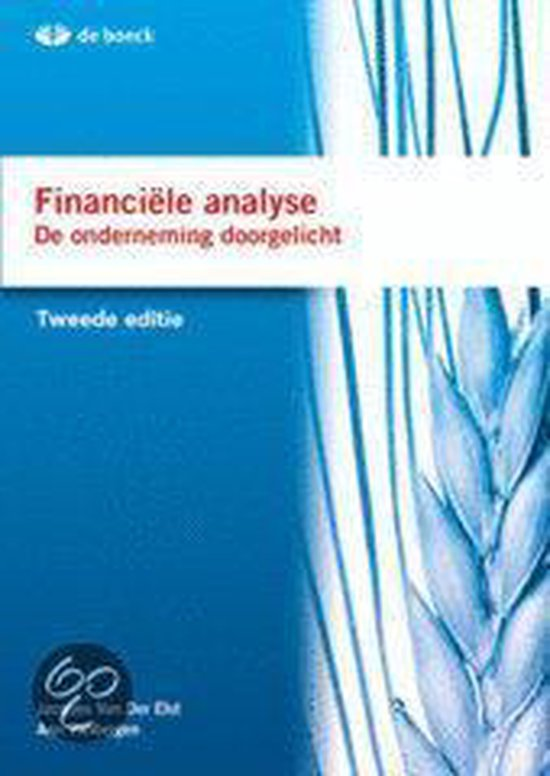 Financiële analyse - de onderneming doorgelicht - Jacques van der Elst pdf epub