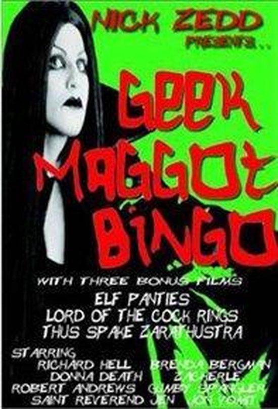 Cover van de film 'Geek Maggot Bingo'