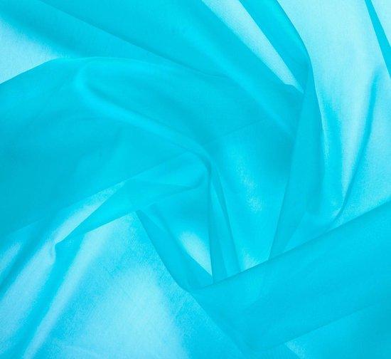 Organza/ Tule Blauw 48x500cm