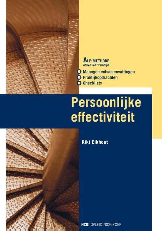 Persoonlijke effectiviteit - Kiki Eikhout pdf epub