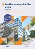 Boek cover Boekhouden voor het hbo 2 Opgavenboek van Gerard van Heeswijk