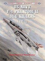 Boek cover US Navy F-4 Phantom II MiG Killers 1972-73 van Brad Elward