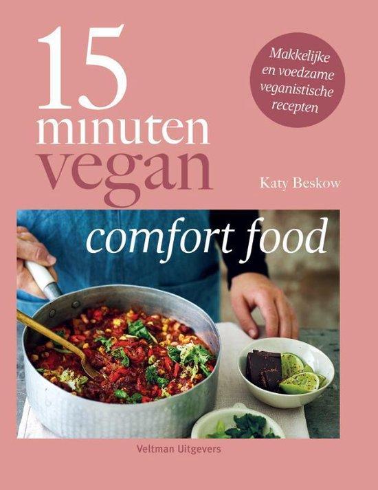 Boek cover 15 minuten vegan van Katy Beskow (Hardcover)
