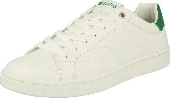 Björn Borg T305 LOW CLS M 1990 wit groen sneakers heren