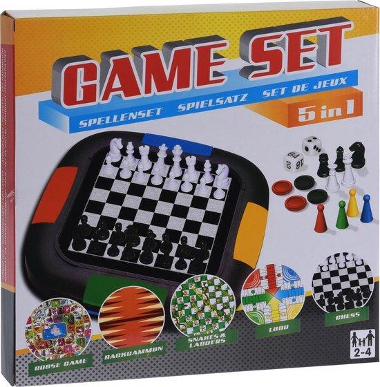 Afbeelding van het spel Free And Easy Spellenset Gameset 5-in-1