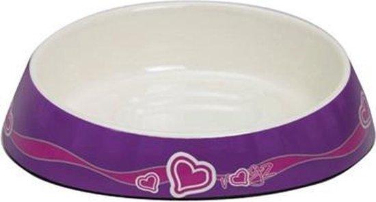 Rogz Yotz Rogz Bowlz Fishcake Purple Hearts