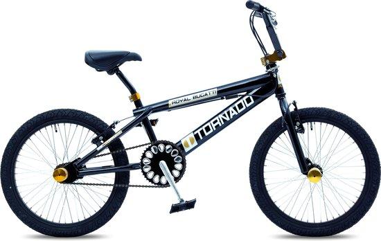 Royal Bugatti Freestyle BMX fiets - 20 inch - Zwart/Goud