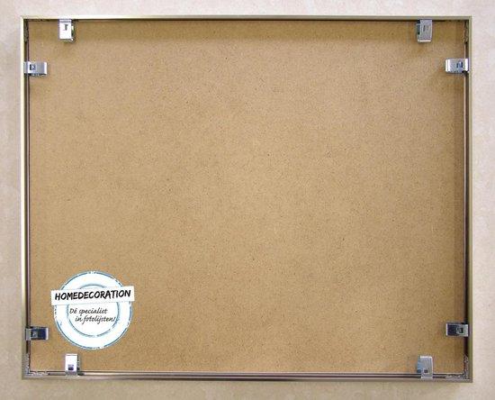 Homedecoration Kampen– Fotolijst – Fotomaat – 60x83 cm– Aluminium – Zilver hoogglans