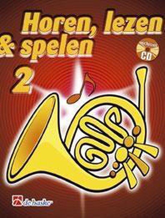 Horen Lezen & Spelen deel 2 voor Hoorn (F) (Boek met Cd) - J.J.P. Kastelein | Fthsonline.com