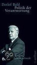 Politik der Verantwortung. Das Beispiel Helmut Schmidt