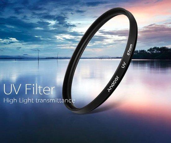 UV Filter 58mm – Nikon / Canon / Sony Camera Lens Filter - 58UV