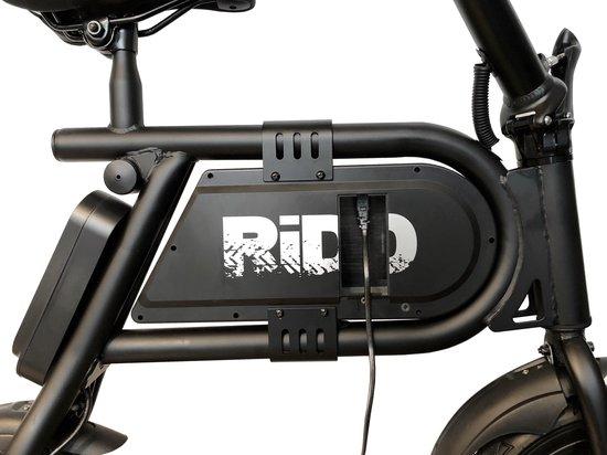 RIDD Elektrische cruiser- Elektrische zitstep- Elektrische scooter  - black