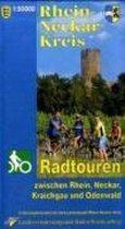 Rhein-Neckar-Kreis 1 : 50 000. Radwanderkarte