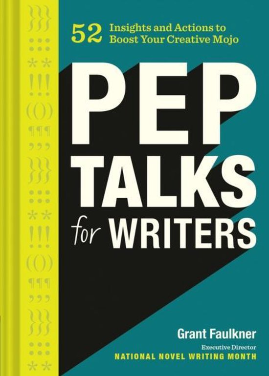 Boek cover Pep Talks for Writers van Grant Faulkner (Hardcover)