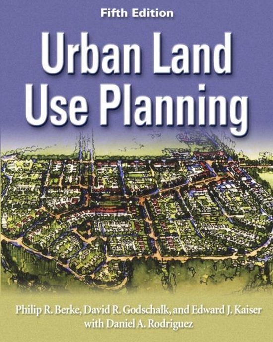 Boek cover Urban Land Use Planning, Fifth Edition van Philip R. Berke (Hardcover)